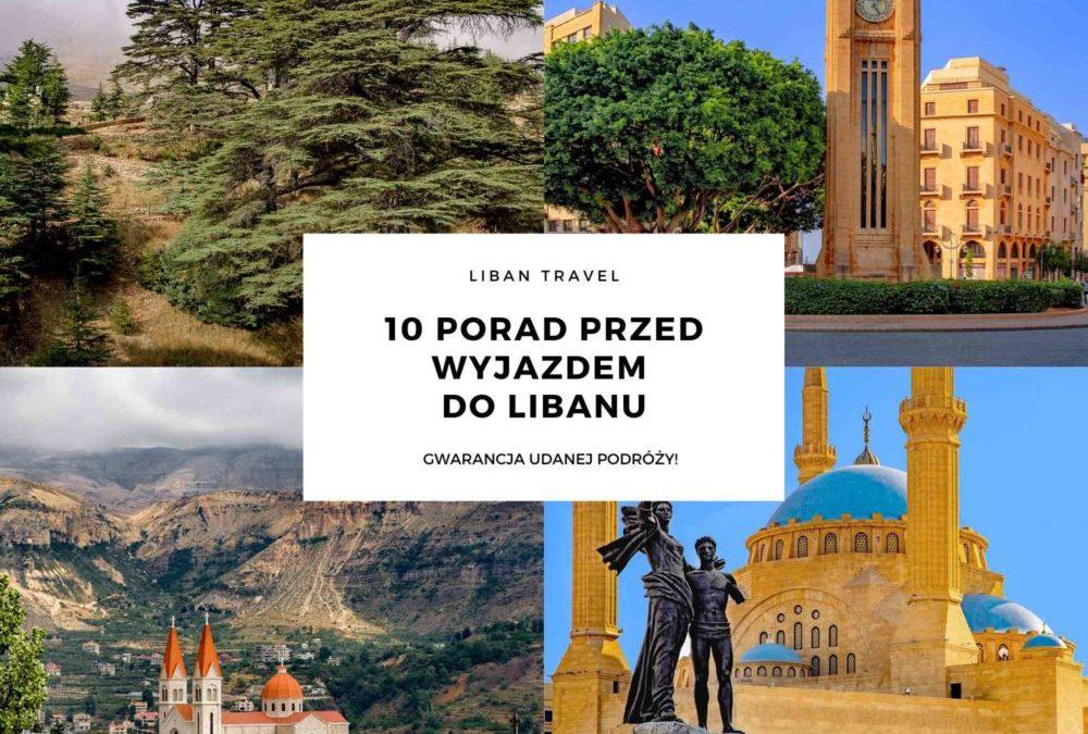 10 porad przed wyjazdem do Libanu - baner