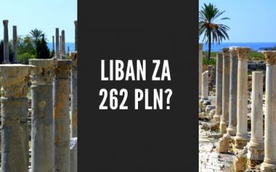 Tanie loty do Libanu?