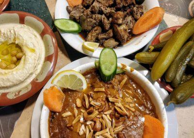 Libańskie potrawy